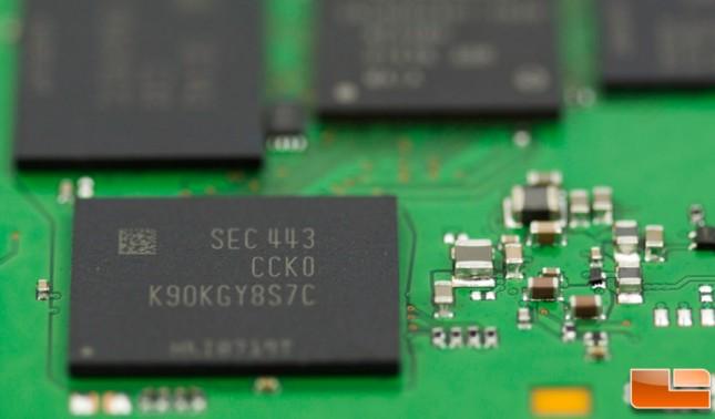 Samsung 850 EVO NAND