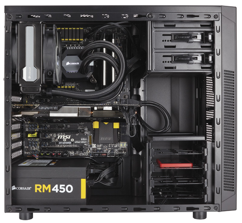 Corsair Carbide 100r Becomes The Latest 49 Gaming Case
