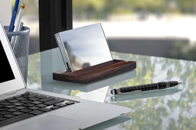 LaCie Mirror Portable Hard Drive; Your Data is a Reflection of Who You Are