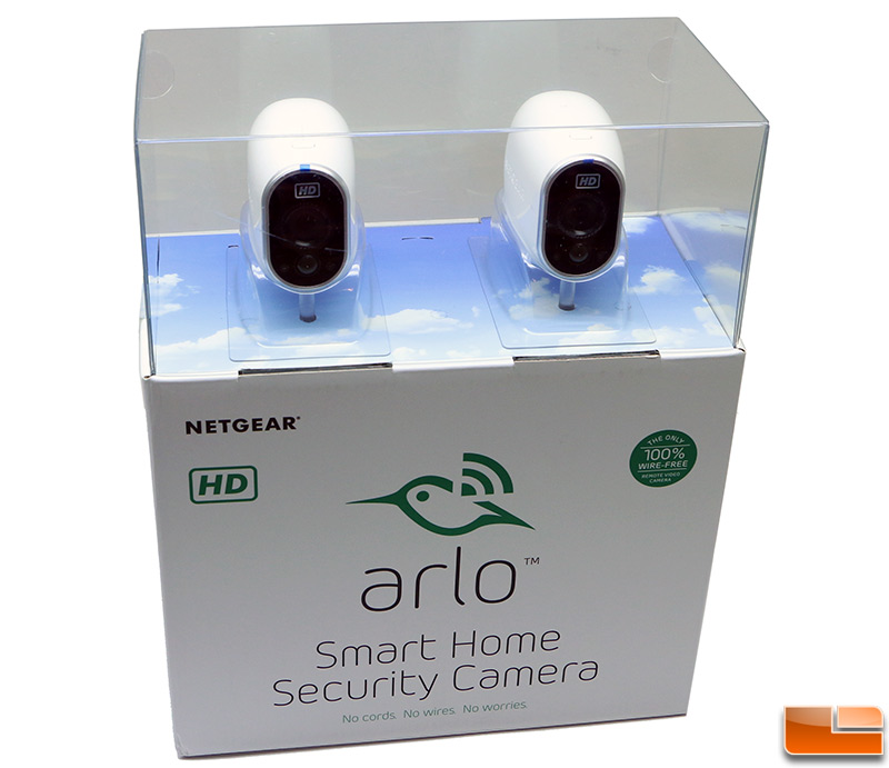 Netgear Arlo Smart Home Security Camera Kit Review Page