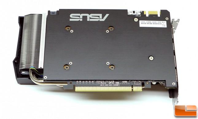 ASUS GeForce GTX 960 Strix Video Card Back Plate