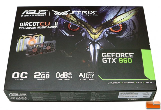 ASUS GeForce GTX 960 Retail Box