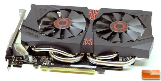ASUS GeForce GTX 960 Strix GPU Cooler