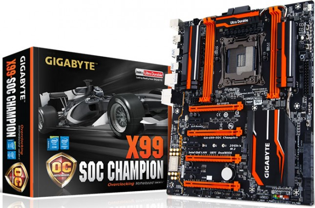 GIGABYTE Launches New X99-SOC Champion Motherboard and 5th Gen Intel Core Processor-Based BRIX at CES 2015