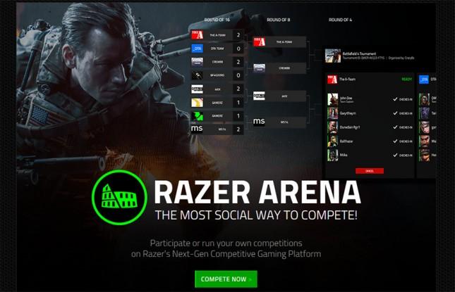 Razer Announces Arena Platform for Pro-Level Tournament Matchmaking