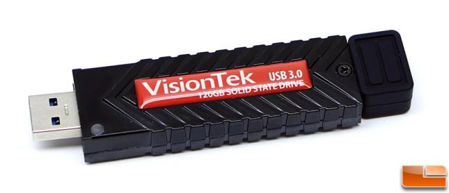 VisionTek USB 3.0 Pocket SSD Cap