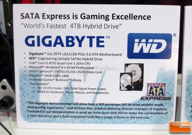 WD 4TB Hybrid Disk Drive Demo