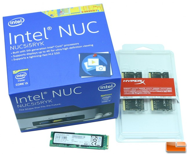 Intel NUC Kit NUC5i5RYK System Build