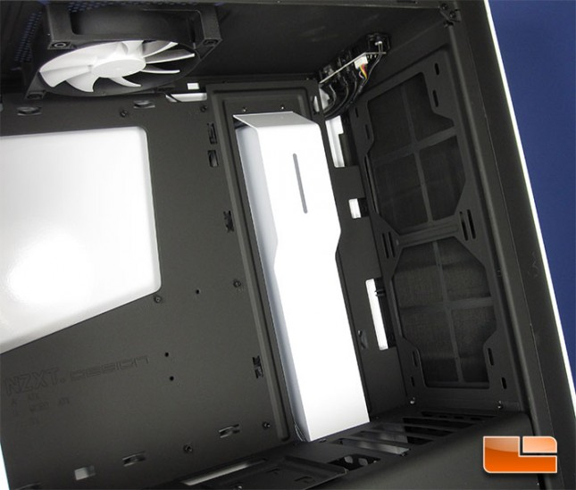 NZXT S340 Mid Tower Inside Front Panel