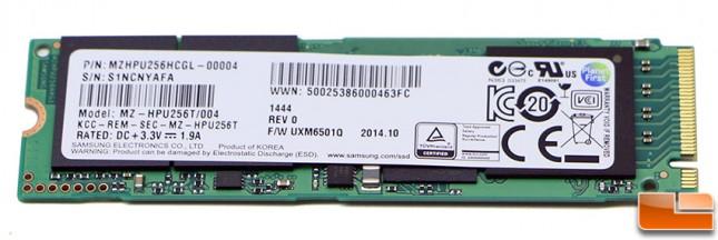 Samsung 941 PCIe M.2 SSD