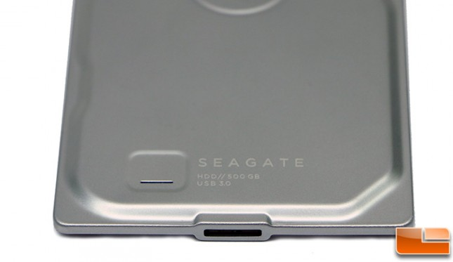 Seagate Seven USB 3.0 Port