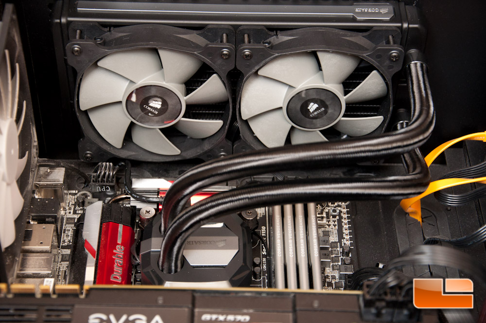 Corsair H100i GTX Extreme Performance Liquid CPU Cooler ...