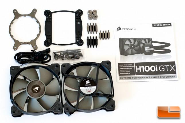 Corsair H100i GTX Accessories