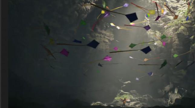 Animated Kite PowerPoint Template - FPPT