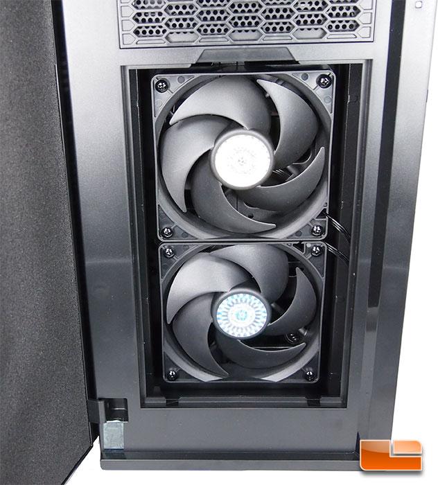 Cooler Master Silencio 652S Front Fans