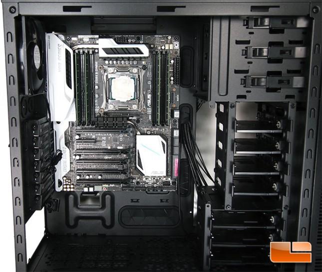 Cooler Master Silencio 652S Motherboard Installaion