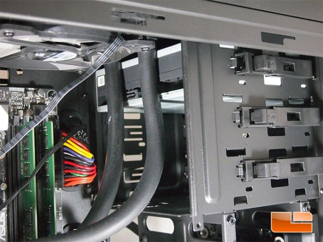 Cooler Master Silencio 652S Optical Drive Bay