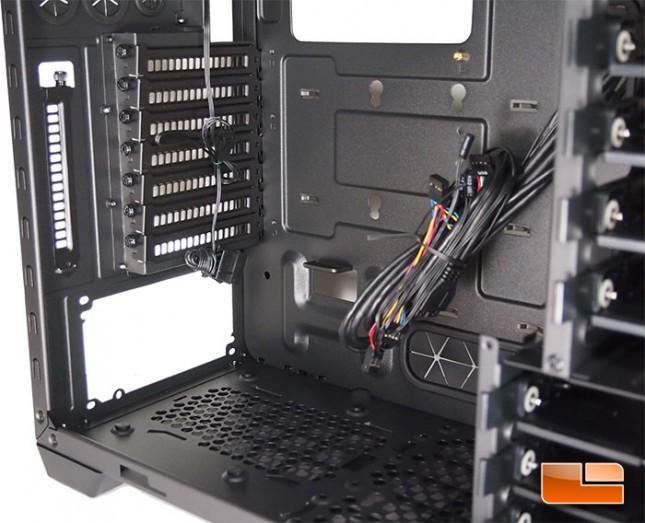 Cooler Master Silencio 652S Power Supply Mounting
