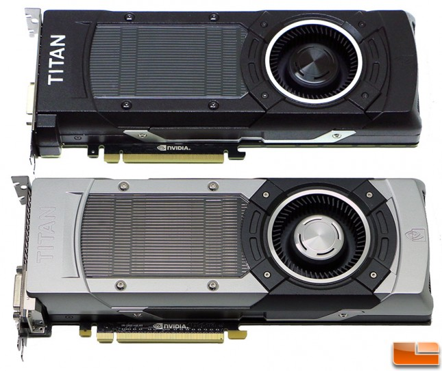 GeForce GTX Titan and Titan X Video Cards