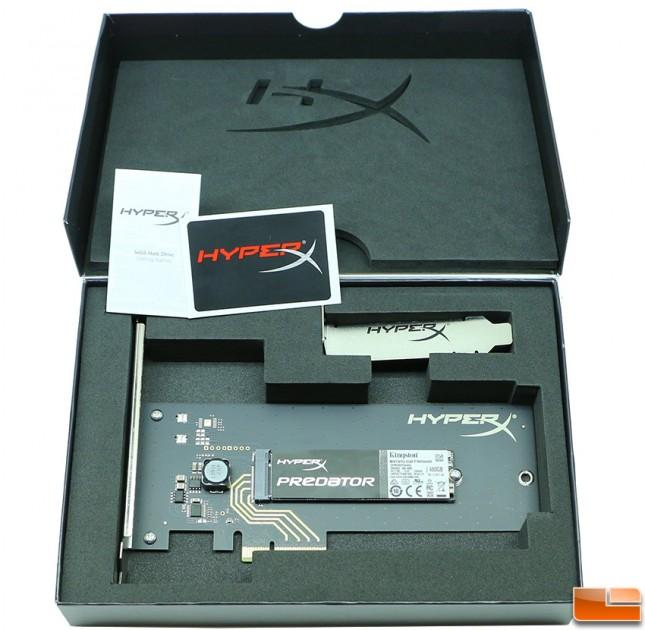 480GB HyperX Predator PCIe SSD Bundle