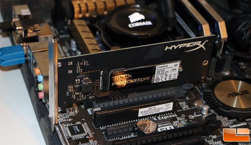 480GB HyperX Pr... M.2 Pcie X16