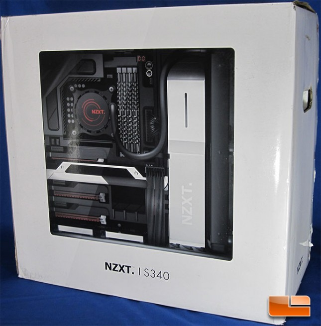 NZXT S340 Retail Packaging