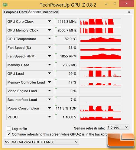GeForce GTX Titan X GPU-Z OC