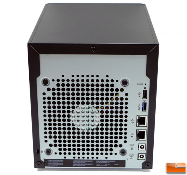 WD My Cloud DL4100 Business NAS Back