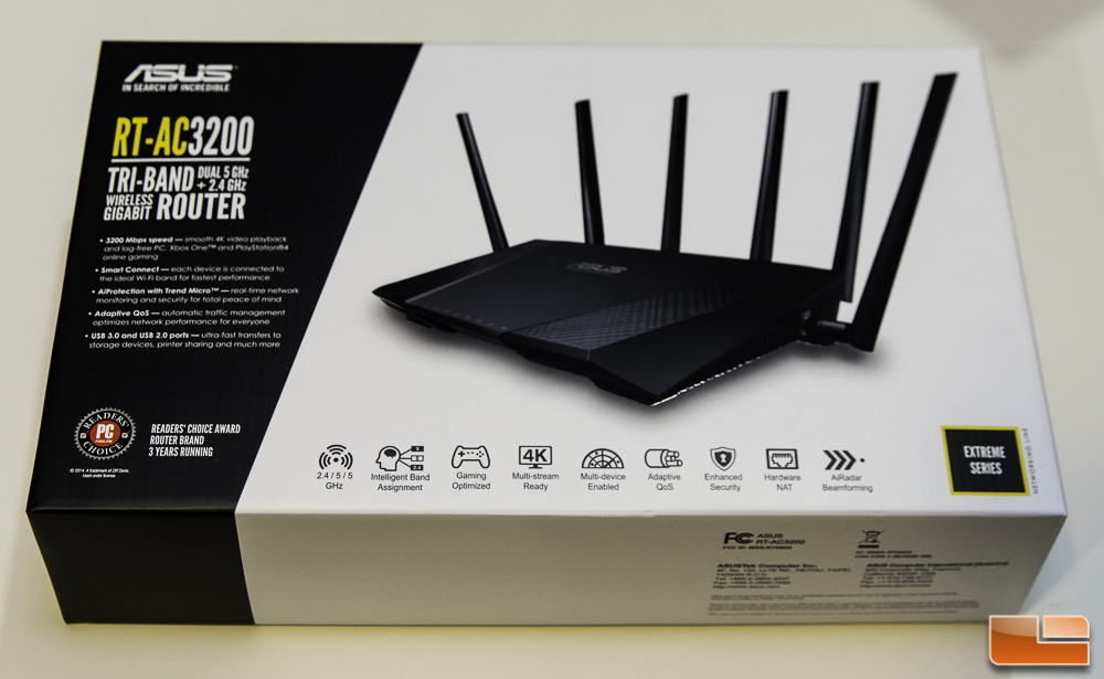 Asus rt ac3200 tri band wireless gigabit routerasus joins the tri asusrt ac3200 1 greentooth Image collections