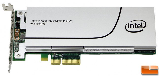 Intel SSD 750 1.2TB NVMe PCie SSD