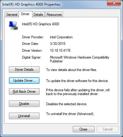 Intel Ivy Bridge Driver Download