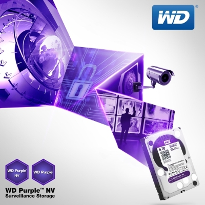 WD Purple NV Surveillance Hard Drives Announced