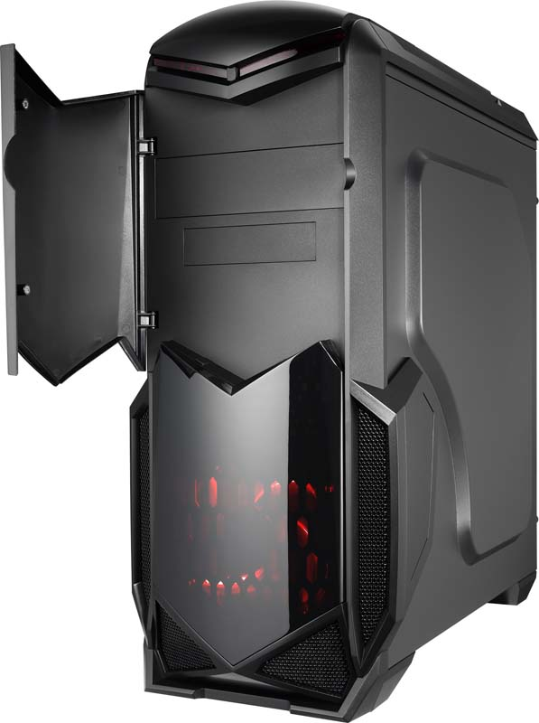 Aerocool Battlehawk Mid Tower Pc Case Now Available For