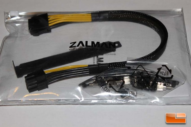 Zalman Z11 Neo Accessory Bag