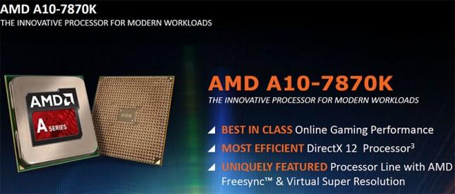 AMD A10 7870K APU Specs