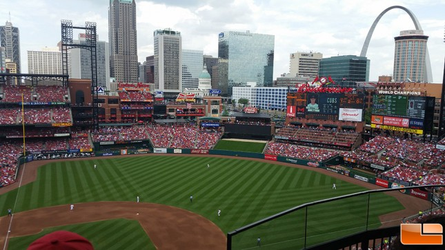 Busch Stadium in 2015
