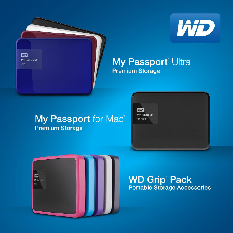 wd redesigns my passport ultra drives new 3tb capacity. Black Bedroom Furniture Sets. Home Design Ideas
