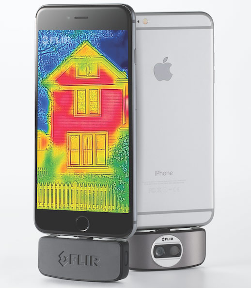 Second Generation FLIR ONE Thermal Imaging Dongle Released for iOS