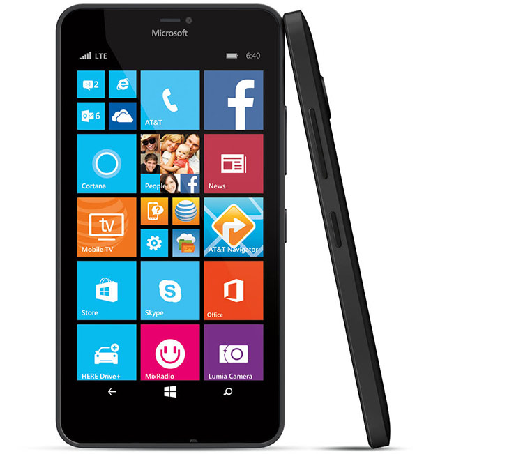 Microsoft lumia 640 xl smartphone now available at at t for Window 640 xl