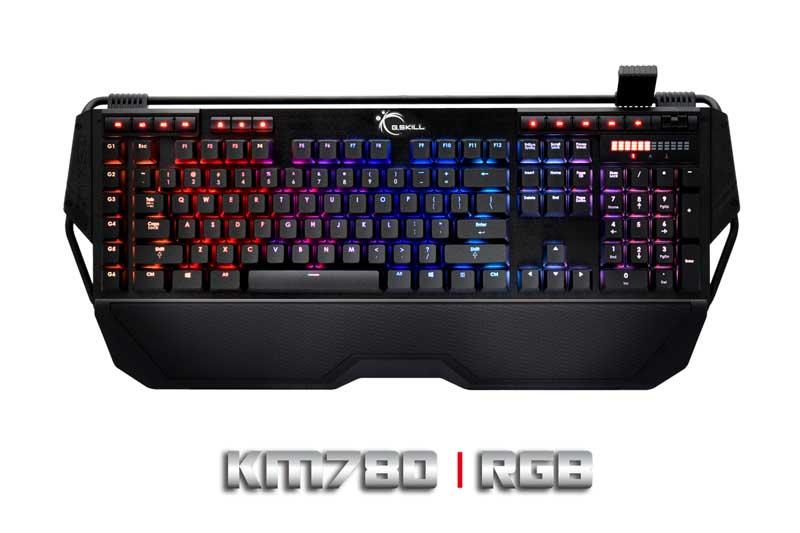 Teclado para games  G.Skill Ripjaws KM780  especificações
