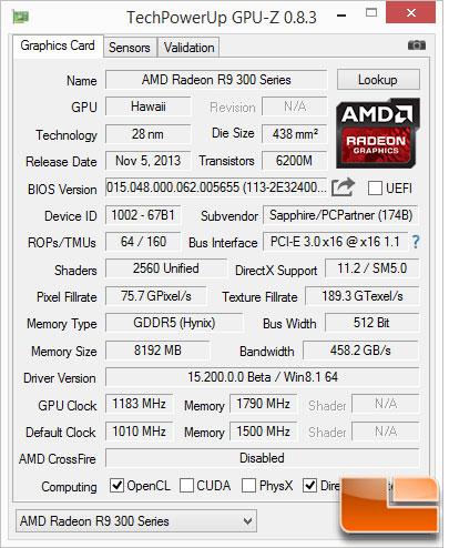 Sapphire-Nitro-390-Benchmarks-GPUZ-OC