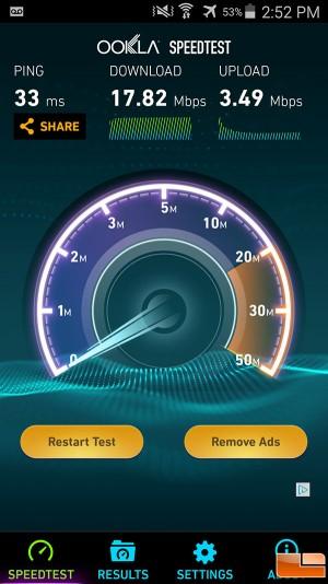 charter spectrum WIFI speed