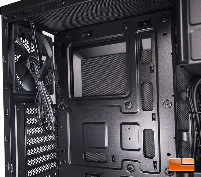 Corsair Carbide 100R Silent Edition CPU Cutout