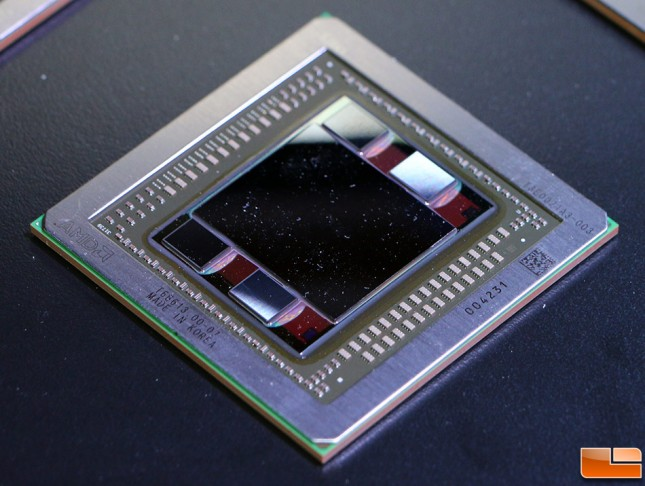 AMD Fiji GPU with HMB1
