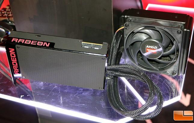 Radeon R9 Fury X Front
