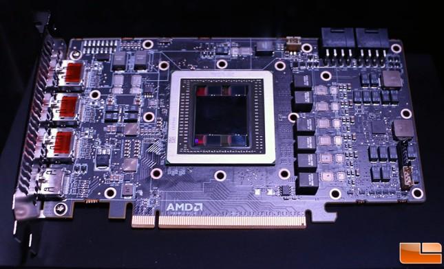 Radeon R9 Fury X PCB