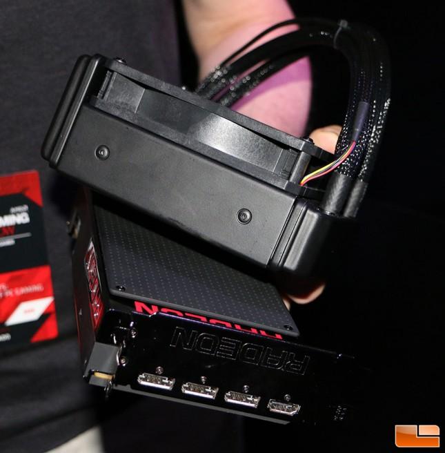 Radeon R9 Fury X Radiator