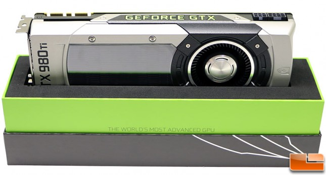 NVIDIA GeForce GTX 980 Ti Reference Card