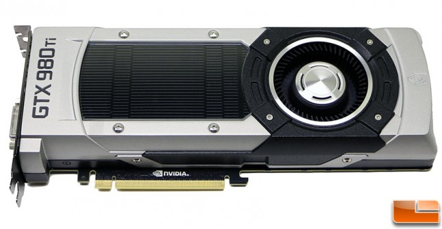 NVIDIA GeForce GTX 980 Ti Video Card Front