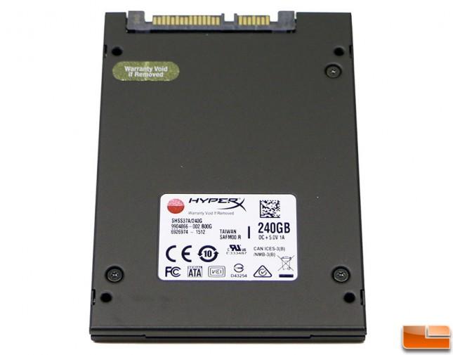 HyperX Savage SATA SSD